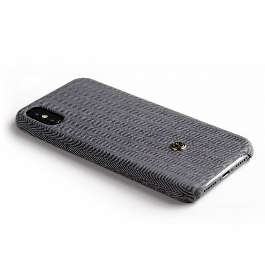 Revested Revested iPhone X Case Herringbone