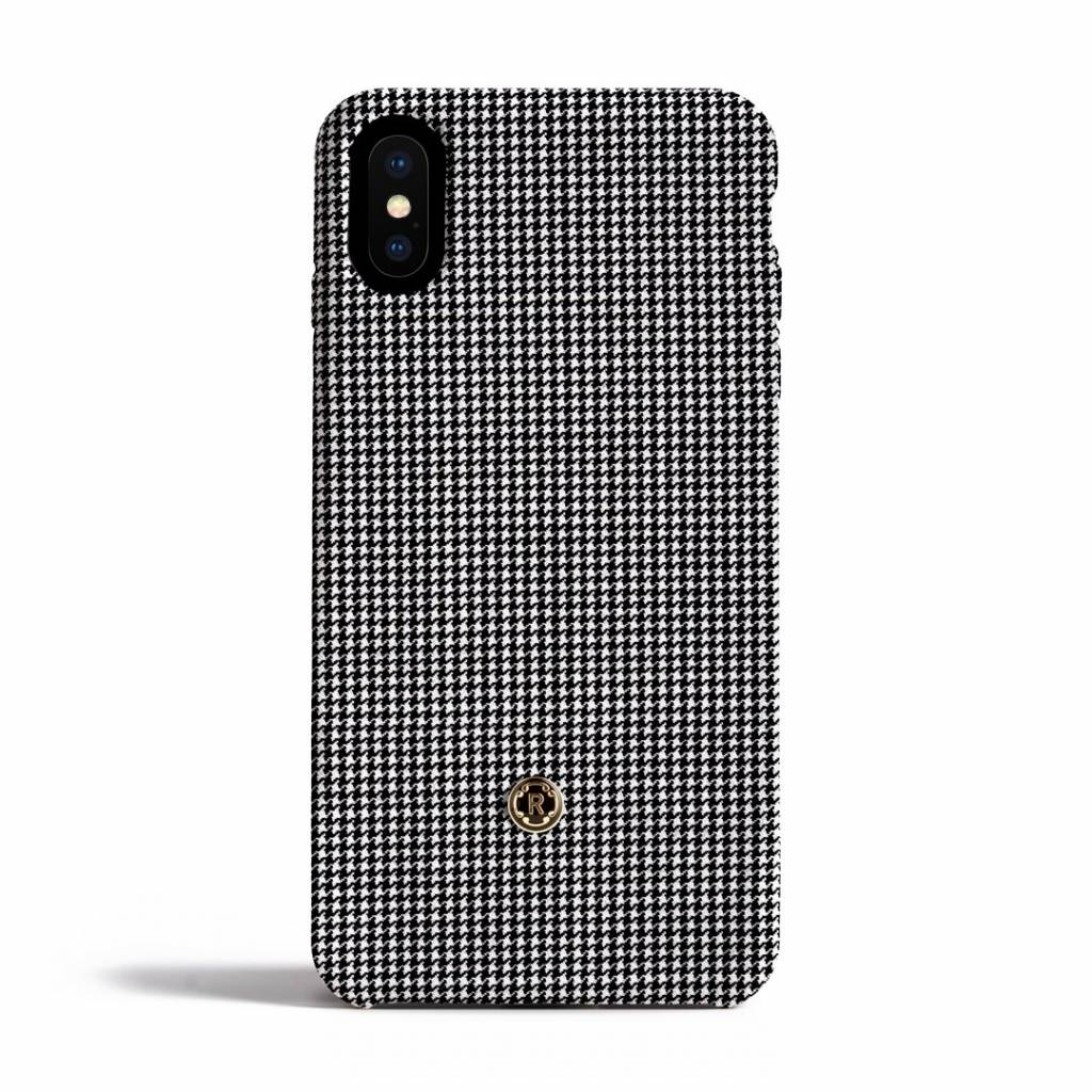 Revested Revested iPhone X Case Pied de Poule