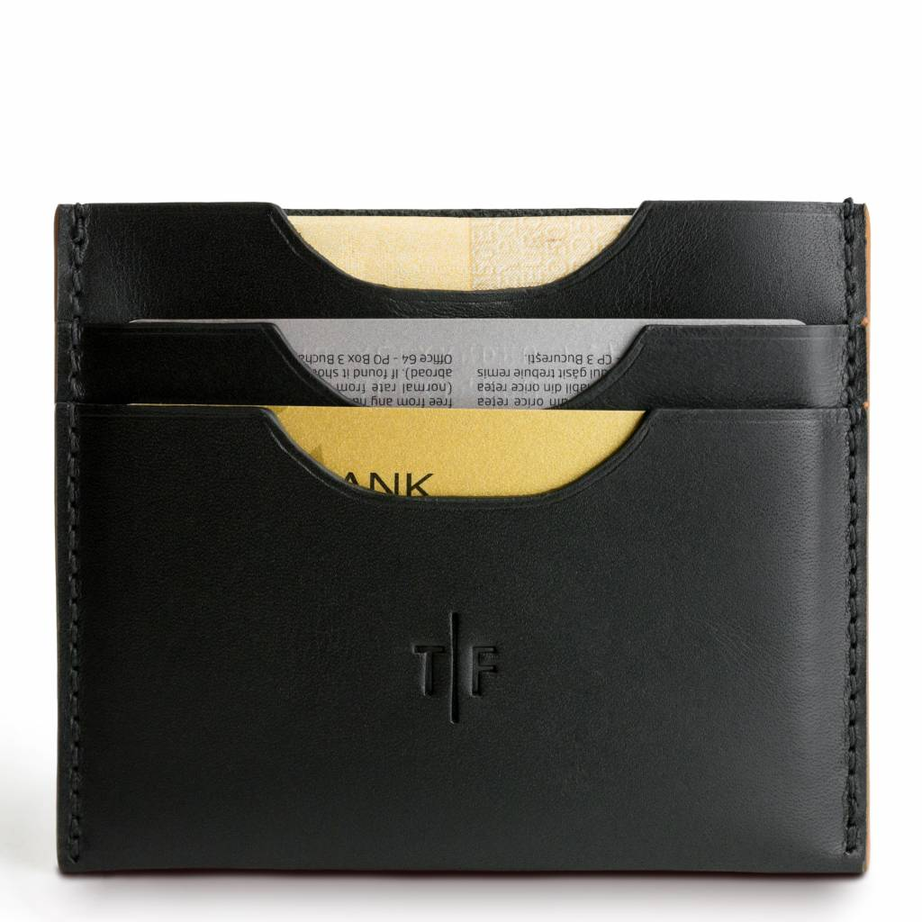 Temporary Forevers Temporary Forevers Minimalist Wallet Black