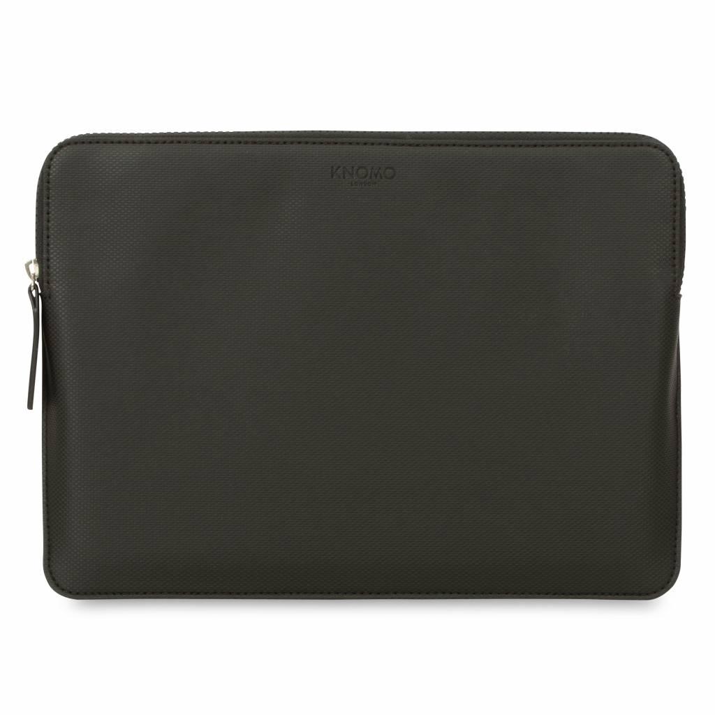 "Knomo Knomo Embossed Laptop Sleeve 13"" Zwart"