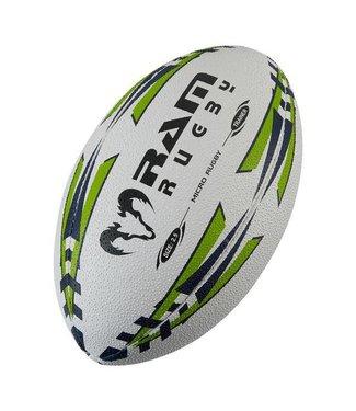 RAM Rugby Mikro-Trainingsball, Größe: 2.5