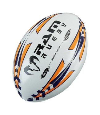 RAM Rugby Micro Softfeel Rugbyball