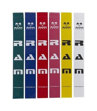 RAM Rugby 20 einzelne Tags, viele Farben moglich, Tag Rugby