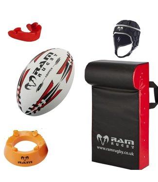 RAM Rugby Starter Kit: 11-15 Jahre Inklusive Rugby-Rucksack