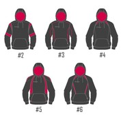 Hooded Sweat Shirt, Ram Rugby