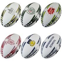 Rugbybal met uw logo, sponsor of tekst