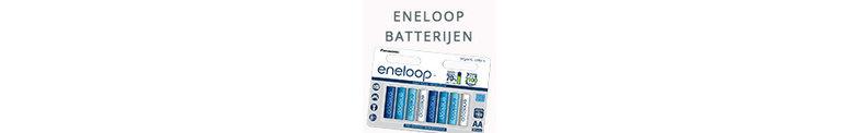 Het complete aanbod aan Eneloop batterijen