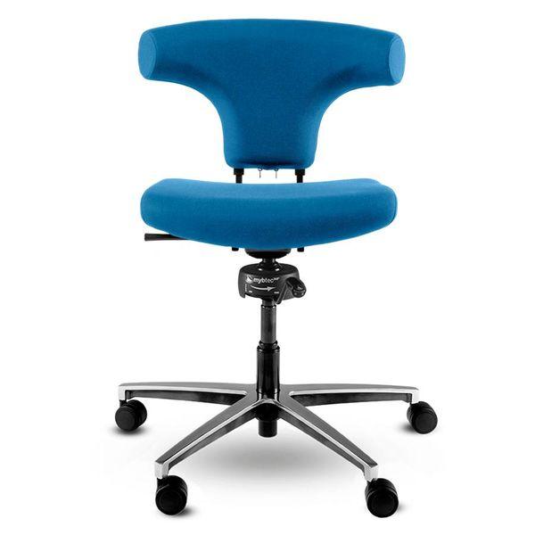 Spindl bureaustoel Bull blauw