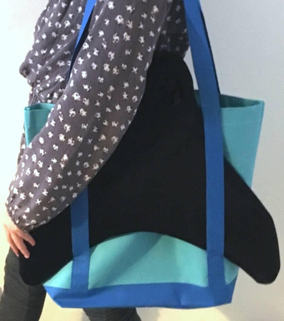 NoordZeemeermin bag for small fin