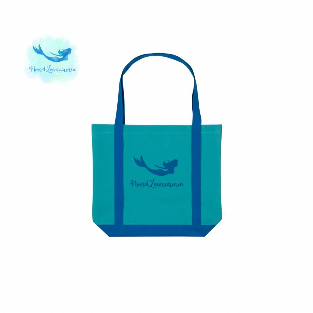 Tote bag to carry Mermaid tail and vin