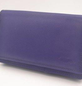 Arrigo grote paarse Anti Skim portemonnee