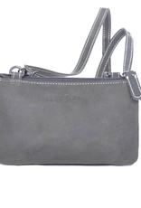 Arrigo COINS AND CARDS moneybag - Buffelleren schoudertasje/clutch/moneybag