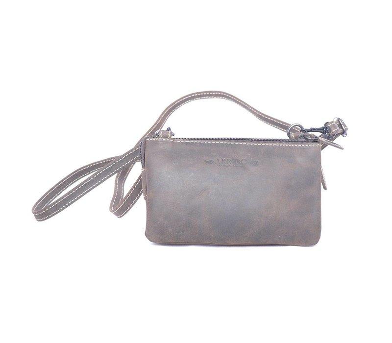 COINS AND CARDS moneybag - Buffelleren schoudertasje/clutch/moneybag