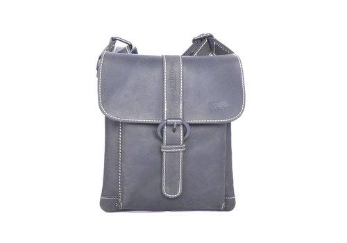 Arrigo SMOOTH AND BUCKLED shoulderbag