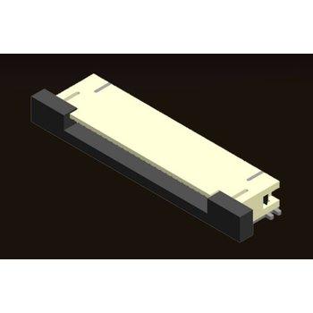 AMTEK Technology Co. Ltd. FPC 0.5mm ZIF SMT Type Side Entry