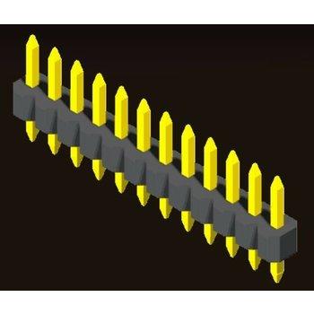 AMTEK Technology Co. Ltd. 5PH5SDX10-1XX Pin Header 1.0mm 1 Row H=1.0mm Straight Type