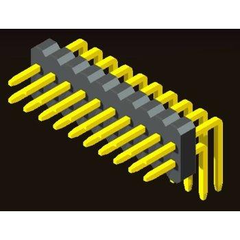 AMTEK Technology Co. Ltd. 5PH5RDX10/15-2XX Pin Header 1.0mm 2 Row H=1.0/1.5mm Right Angle Type
