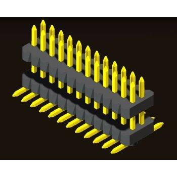 AMTEK Technology Co. Ltd. 5PH5DMX10/15-2XX  Pin Header 1.0mm H=1.0/1.5mm Stack SMT Type