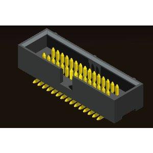 AMTEK Technology Co. Ltd. 5BH4MSXNN-XX   Box Header 1.27 X 2.54mm SMT Type