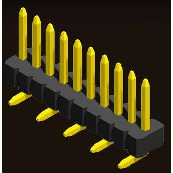 AMTEK Technology Co. Ltd. 5PH3MSX10/15/20/25-1XX     Pin Header 1.27mm H=1.0/1.5/2.0/2.5mm SMT Type