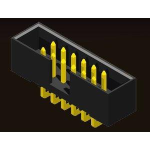 AMTEK Technology Co. Ltd. 5BH2SD/RD/MSXXX-XX    Box Header 2.0mm H=5.6 SMT/Straight/Right Angle Type