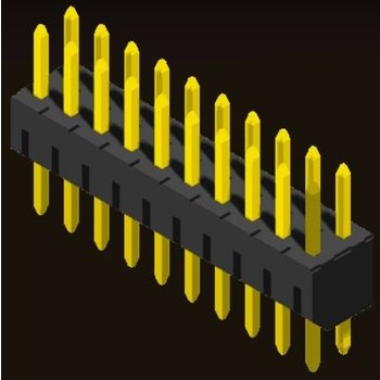 AMTEK Technology Co. Ltd. 5PH2SDX40-2XX   Pin Header 2.0mm H=4.0 Straight Type