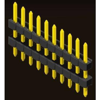AMTEK Technology Co. Ltd. 5PH2DDX15/20-1XX   Pin Header 2.0mm 1 Row H=1.5/2.0 Stack Straight Type