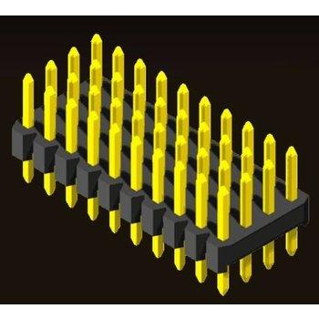 AMTEK Technology Co. Ltd. 5PH2SDX15/20-4XX          Pin Header 2.0mm 4 Row H=1.5/2.0 Straight Type