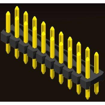 AMTEK Technology Co. Ltd. 5PH2SDX15/20-2XX      Pin Header 2.0mm 2 Row H=1.5/2.0mm Straight Type