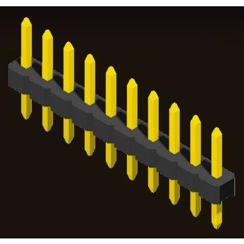 AMTEK Technology Co. Ltd. 5PH2SDX15/20-1XX     Pin Header 2.0mm 1 Row H=1.5/2.0mm Straight Type