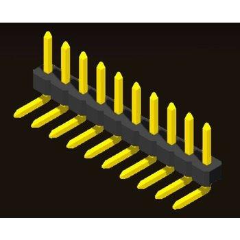 AMTEK Technology Co. Ltd. 5PH2RDX15/25-1XX     Pin Header 2.0mm 1 Row H=1.5/2.0mm Right Angle Type