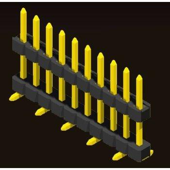 AMTEK Technology Co. Ltd. 5PH2DMX15/20-1XX           Pin Header 2.0mm 1 Row H=1.5/2.0mm Stack SMT Type