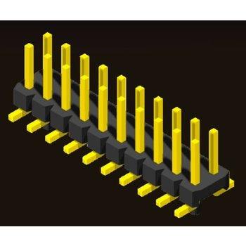 AMTEK Technology Co. Ltd. 5PH2MSX15/20-2XX           Pin Header 2.0mm 2 Row H=1.5/2.0mm SMT Type