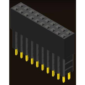 AMTEK Technology Co. Ltd. 5PS1EAX85-1/2/3XX-L/U       Female Header 2.54mm H=8.5mm Elevated Type