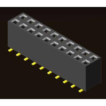 AMTEK Technology Co. Ltd. 5PS1MSX71-2XX       Female Header 2.54mm H=7.1mm SMT Type