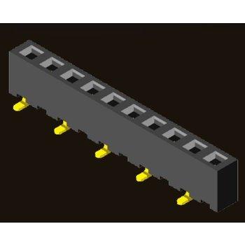 AMTEK Technology Co. Ltd. 5PS1MSX45-1XX                          Female Header 2.54mm H=4.5mm SMT Type