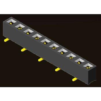 AMTEK Technology Co. Ltd. 5PS1MSX35-1XX                    Female Header 2.54mm H=3.55mm SMT Type