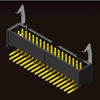 AMTEK Technology Co. Ltd. 5EL1MS/RD/SDXNN-XX              Ejector Header 2.54mm Side Latch Type