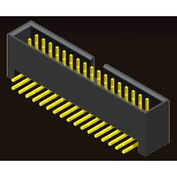 AMTEK Technology Co. Ltd. 5BH1RD/SDXD6-XX         Box Header 2.54mm H=13.6mm Right Angle/Straight Type