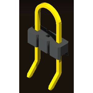 AMTEK Technology Co. Ltd. 5PH1UDX25-103      Pin Header 2.54mm H=2.5mm U Type