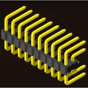 AMTEK Technology Co. Ltd. 5PH1CDX25-2XX                             Pin Header 2.54mm H=2.5mm C Type