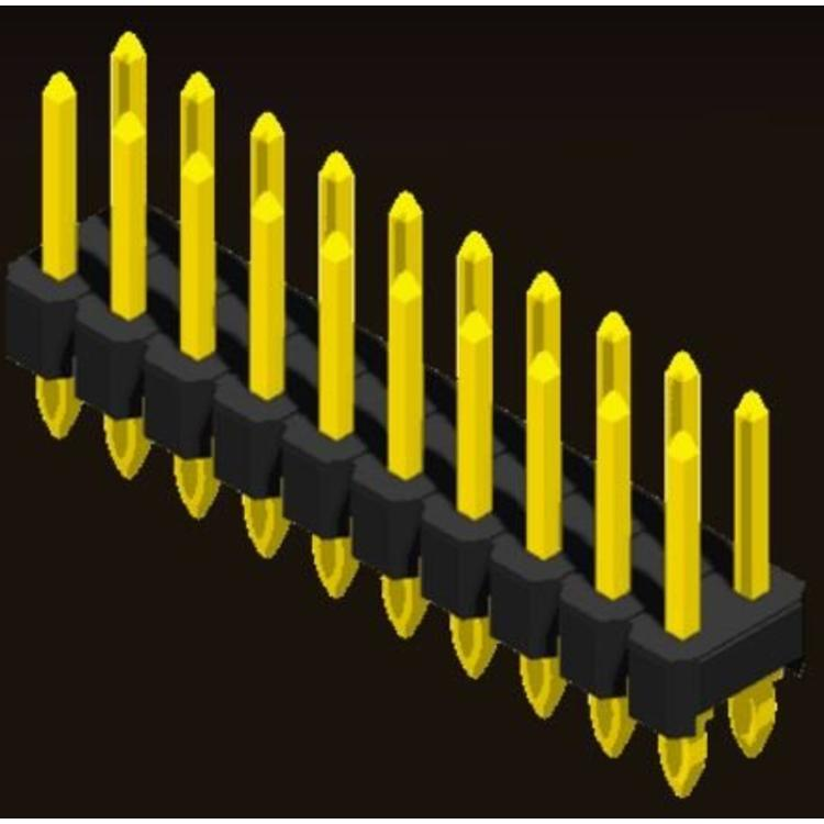 AMTEK Technology Co. Ltd. 5PH1FSX25-2XX                         Pin Header 2.54mm H=2.5mm Press Fit Type