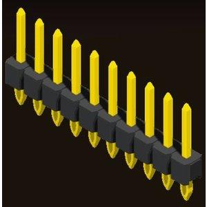 AMTEK Technology Co. Ltd. 5PH1FSX25-1XX                     Pin Header 2.54mm H=2.5mm Press Fit Type