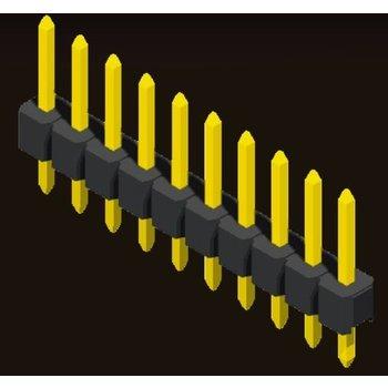 AMTEK Technology Co. Ltd. 5PH1SDX15/17/25-1XX                Pin Header 2.54mm H=1.5/1.7/2.5mm Straight Type