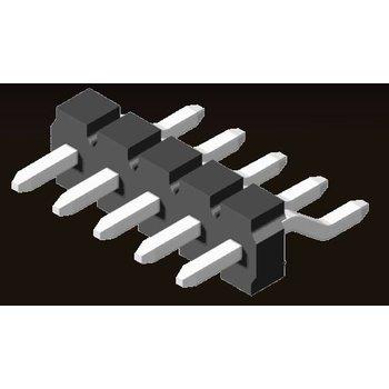 AMTEK Technology Co. Ltd. 5PH9MRX32-1XX           Pin Header 3.96mm H=3.18mm SMT R/A Type