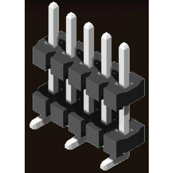 AMTEK Technology Co. Ltd. 5PH9DMX32-1XX          Pin Header 3.96mm H=3.18mm Stack SMT Type