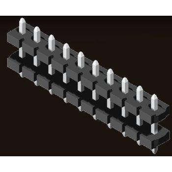 AMTEK Technology Co. Ltd. 5PH8DDX25-1XX        Female Header 5.08mm H=2.5mm Stack Straight Type