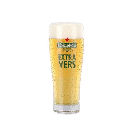Heineken Extra Vers Glazen 4 stuks