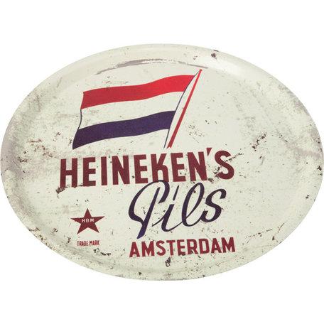 Heineken Dienblad met Vlag