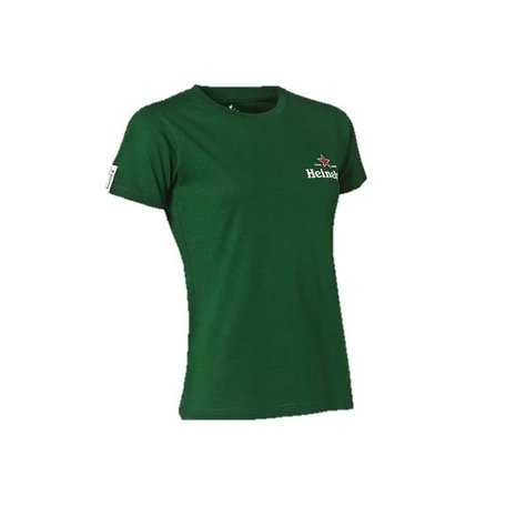 T-Shirt groen ronde hals dames